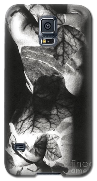 Body Projection Woman - Duplex Galaxy S5 Case