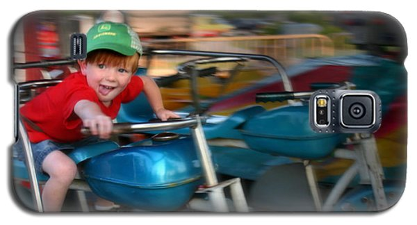 Galaxy S5 Case featuring the photograph Born To Ride by Kelly Hazel