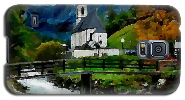 Galaxy S5 Case featuring the painting Bosnian Country Church by Jann Paxton