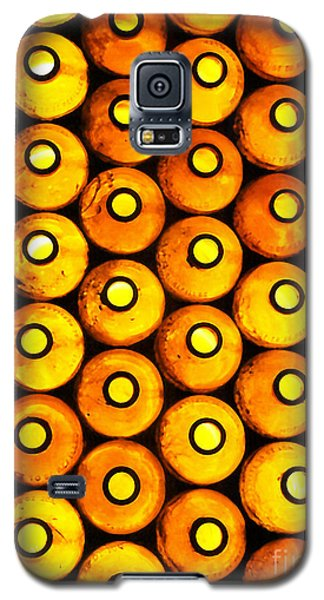 Galaxy S5 Case featuring the photograph Bottle Pattern by Nareeta Martin