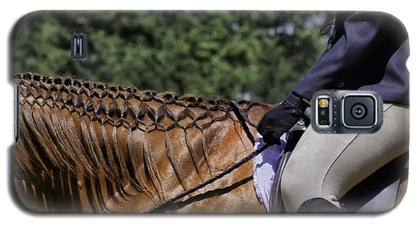 Galaxy S5 Case featuring the photograph Braided Mane by Betty Denise
