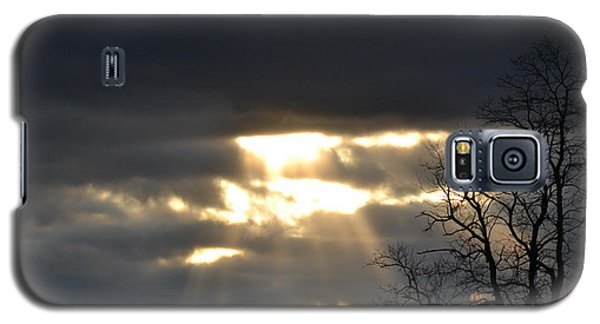 Break In The Clouds Galaxy S5 Case by Bonnie Myszka