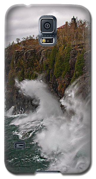 Breakers At Split Rock Galaxy S5 Case