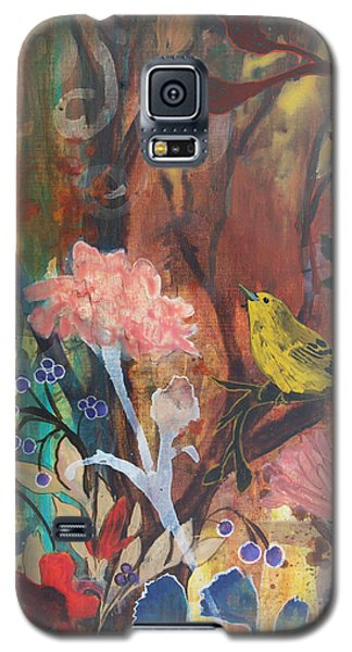 Galaxy S5 Case featuring the painting Breath Of Cooler Air by Robin Maria Pedrero