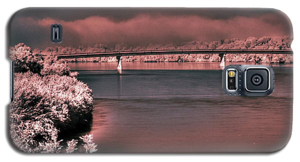 Galaxy S5 Case featuring the photograph Bridge Across The Mo by William Fields