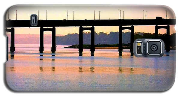 Bridge At Sunset Galaxy S5 Case