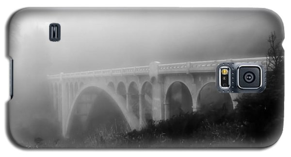 Bridge In Fog Galaxy S5 Case by Katie Wing Vigil