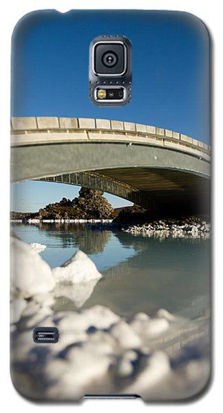 Bridge Over The Blue Lagoon Galaxy S5 Case