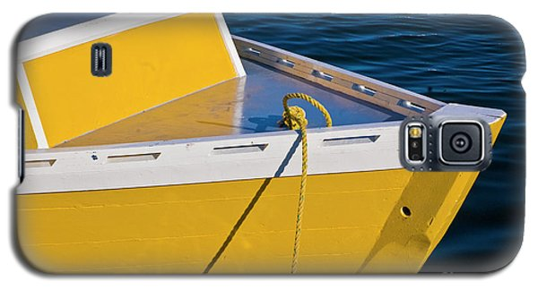 Bright Yellow Boat Galaxy S5 Case