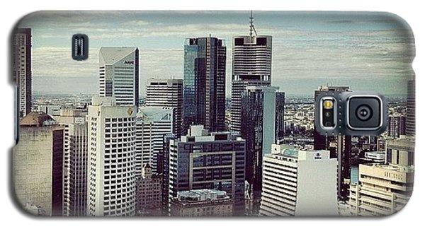 Professional Galaxy S5 Case - Brisbane Skyline 2 by Darren Frankish
