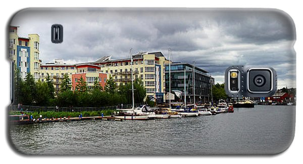 Bristol Panoramic Photograph Galaxy S5 Case by Ken Brannen