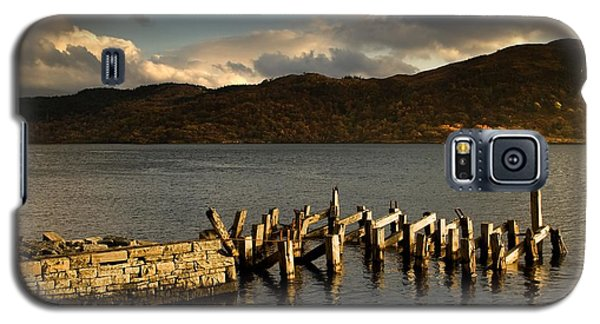 Galaxy S5 Case featuring the photograph Broken Dock, Loch Sunart, Scotland by John Short