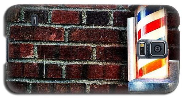 City Galaxy S5 Case - Brooklyn Barber Shop.  by Luke Kingma