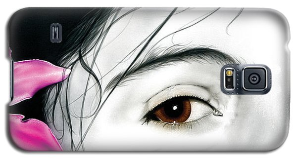Brown Eyed Girl Galaxy S5 Case