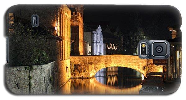 Bruge Night Galaxy S5 Case by Milena Boeva