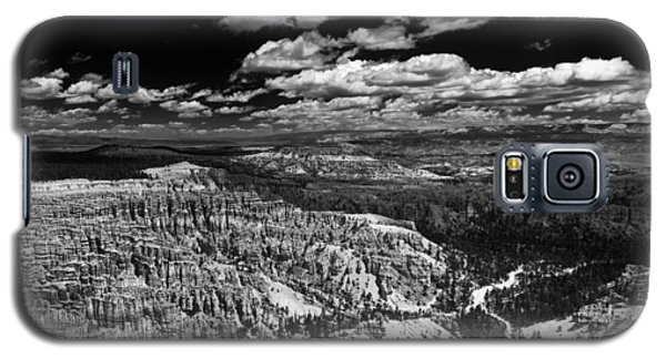 Bryce Canyon Ampitheater - Black And White Galaxy S5 Case