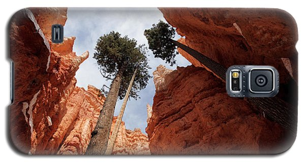 Galaxy S5 Case featuring the photograph Bryce Canyon Towering Hoodoos by Karen Lee Ensley