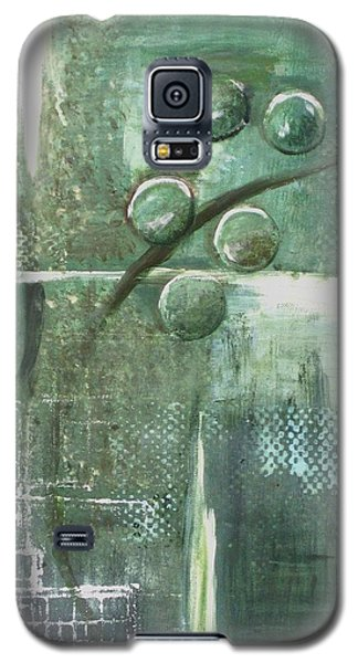 Galaxy S5 Case featuring the painting Bubbles by Kathy Sheeran