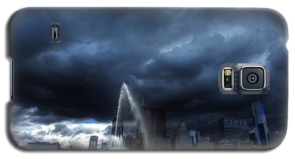 Buckingham Fountain Storm Galaxy S5 Case