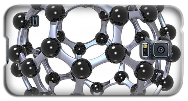 Buckminsterfullerene Or Buckyball C60 18 Galaxy S5 Case