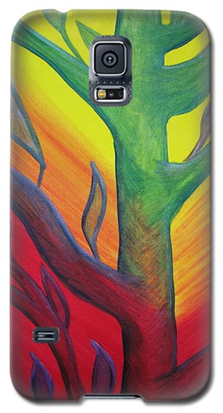 Bumble Bee In A Tree Galaxy S5 Case