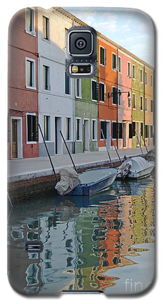Galaxy S5 Case featuring the photograph Burano Canal by Rebecca Margraf