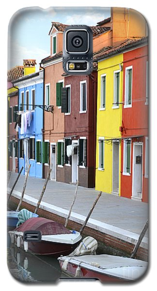 Galaxy S5 Case featuring the photograph Burano Italy 2 by Rebecca Margraf