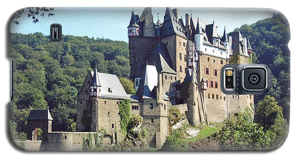 Galaxy S5 Case featuring the photograph Burg Eltz In Profile by Joseph Hendrix