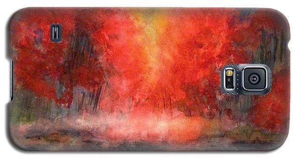 Burning Lake Galaxy S5 Case by Yoshiko Mishina
