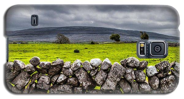 Galaxy S5 Case featuring the photograph Burren Stones by Juergen Klust