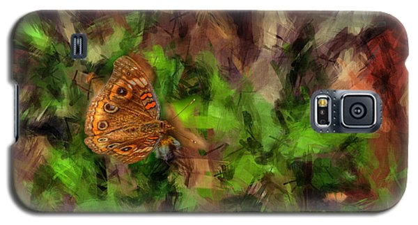 Galaxy S5 Case featuring the photograph Butterfly Camouflage by Dan Friend