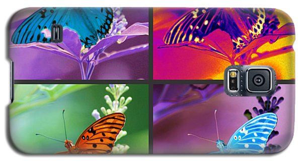 Butterfly Collage Galaxy S5 Case