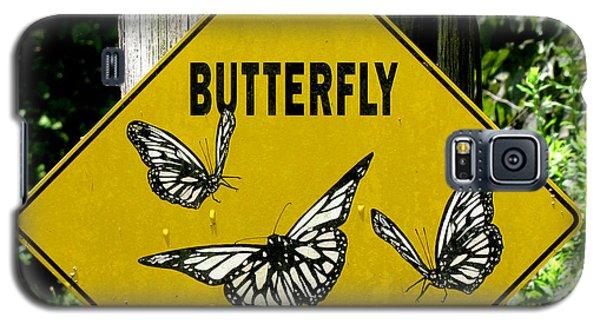 Butterfly Crossing Galaxy S5 Case
