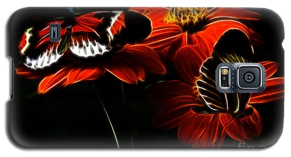 Butterfly Duet Galaxy S5 Case by Darleen Stry