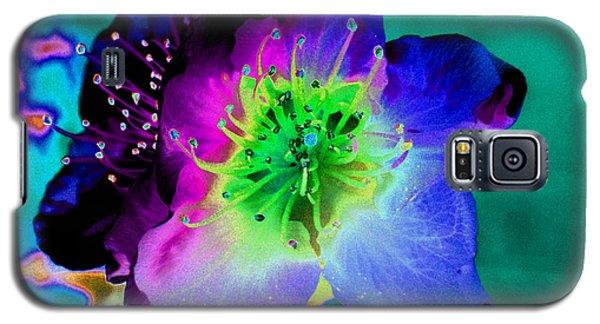 Butterfly Flower Galaxy S5 Case