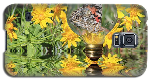 Butterfly In A Bulb II - Landscape Galaxy S5 Case