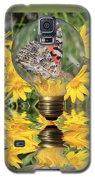 Butterfly In A Bulb II - Landscape Galaxy S5 Case