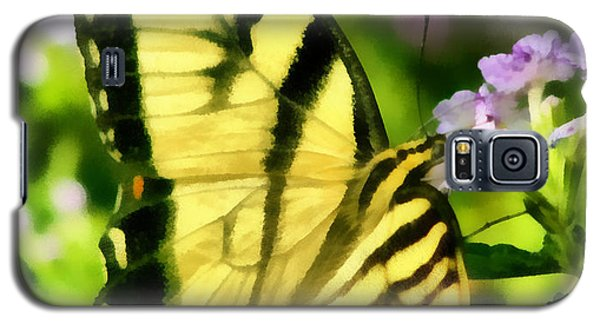 Galaxy S5 Case featuring the painting Butterfly by Lynne Jenkins