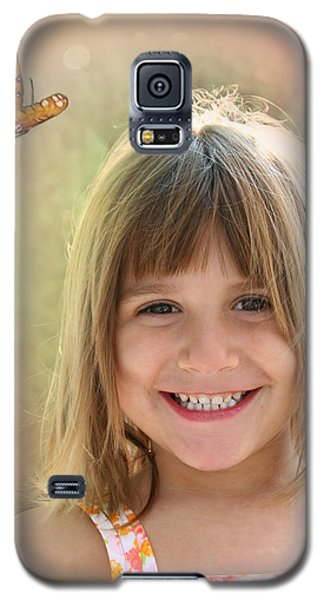 Butterfly Smile Galaxy S5 Case