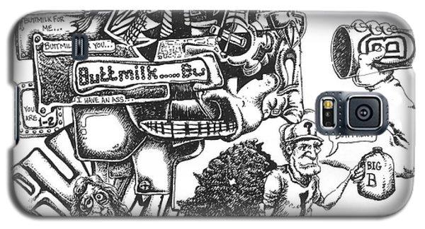 Buttmilk Galaxy S5 Case by Mack Galixtar