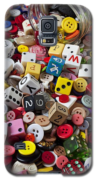 Buttons And Dice Galaxy S5 Case