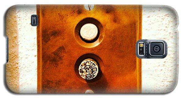 Light Galaxy S5 Case - Buttons by Ken Powers