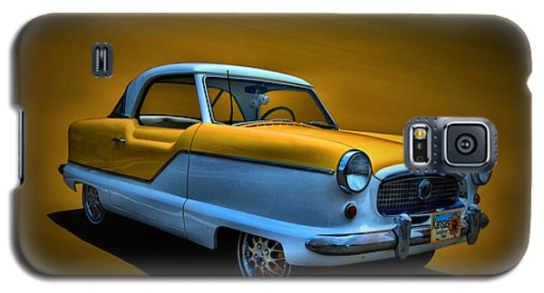Galaxy S5 Case featuring the photograph 1957 Nash Metropolitan by Tim McCullough
