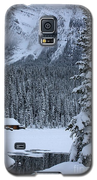 Cabin In The Snow Galaxy S5 Case
