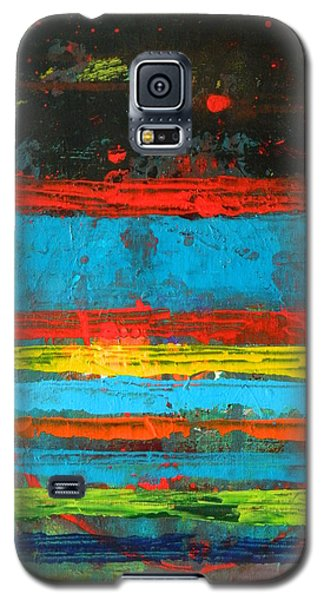 Galaxy S5 Case featuring the painting Cabo by Everette McMahan jr