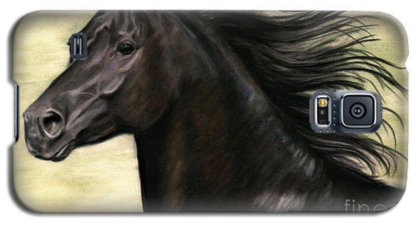 Galaxy S5 Case featuring the painting Cadence by Sheri Gordon