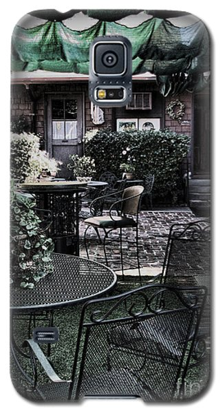 Cafe Courtyard Galaxy S5 Case by Joanne Coyle