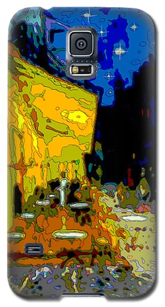 Cafe Vincent Galaxy S5 Case by Jann Paxton