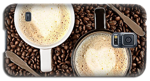 Galaxy S5 Case featuring the photograph Caffe Latte For Two by Gert Lavsen