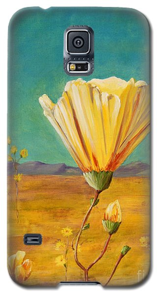 California Desert Closeup Galaxy S5 Case by Terry Taylor